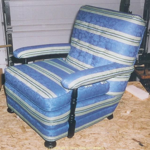 Horizontal Stripe Chair