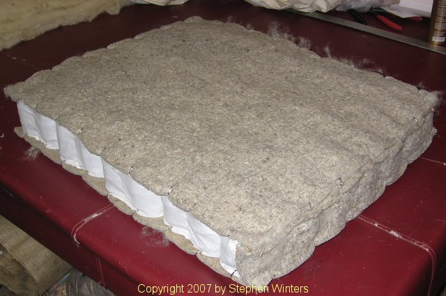 wool pad cushion