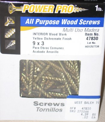 Power Pro Screws